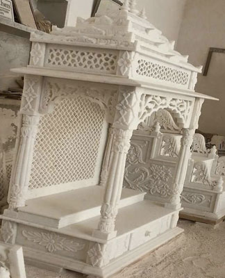 Manufacturer of Marble Temples - jogani marble