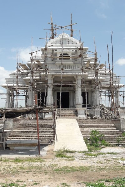 Best white Marble Temple Construction