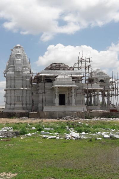 Marble Temple Construction makrana